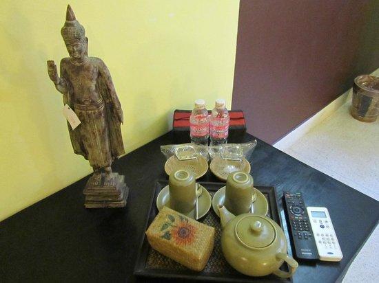 Siddharta Boutique Hotel: café y té