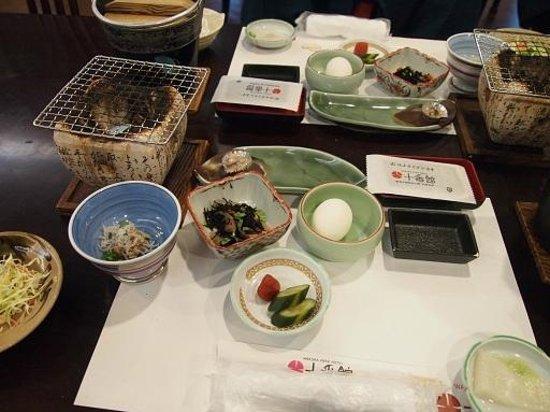 Jubankan: 朝食