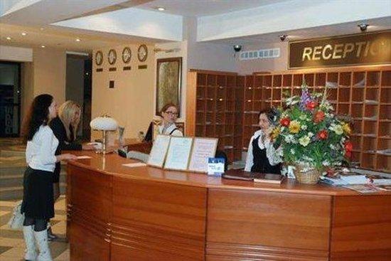Hotel Bulgar: Reception