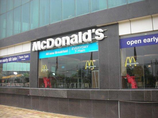 Laxmi Villa: McDonalds