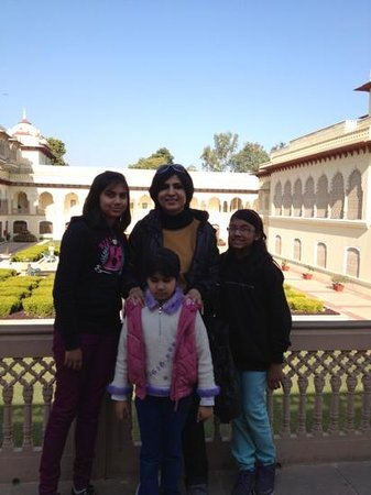 Rambagh Palace: history walks with you.