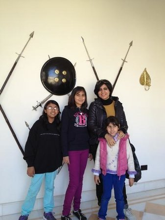 Rambagh Palace: Battle Arms :)