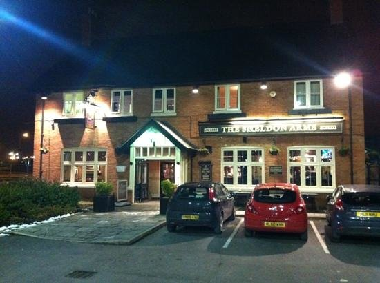 The Sheldon Arms: lovely pub