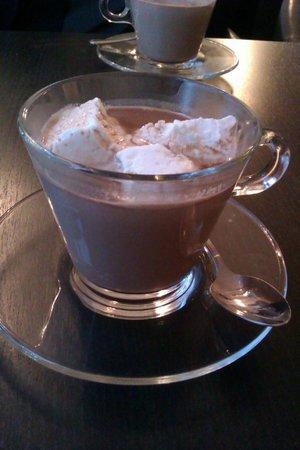 Effigie Créateur de Gourmandises : Chocolat chaud et guimauves
