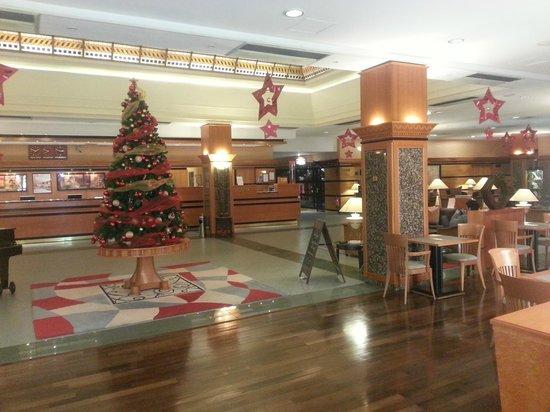 The Aquincum Hotel Budapest: Reception of the Hotel