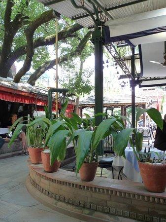 Kathmandu Guest House:                   The bar