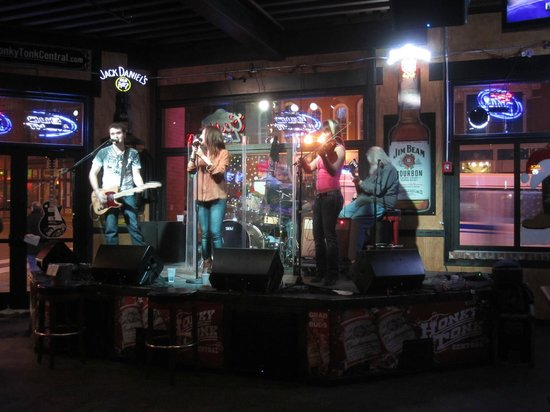 The Live Band Picture Of Tonk Central Nashville