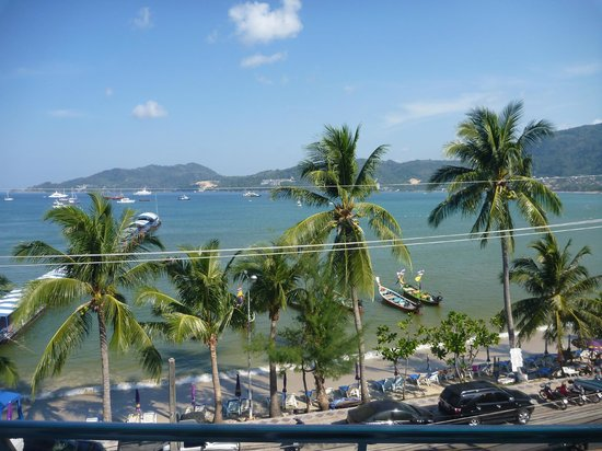 Rayaburi Beach Club Hotel: View from top floor room