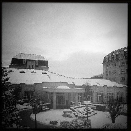 Hotel Parc Plaza : il panorama dalla mia camera