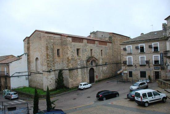Hostal San Miguel: Desde el balcón