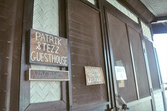 Patrik & Tezz Guesthouse:                   entrance