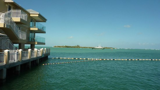 Pier House Resort & Spa:                   View from private beach