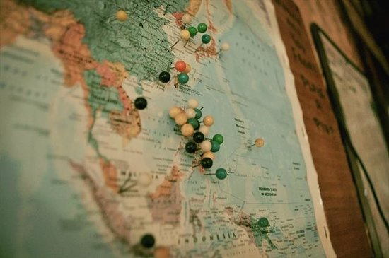 Patrik & Tezz Guesthouse:                   where are you from? map
