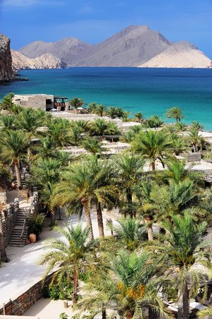 Zighy Bay, Oman: Resort