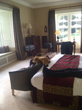 Swinton Park Country Club and Spa: Bradford suite