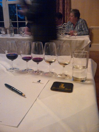 Swinton Park Country Club and Spa: Wine tasting was great fun