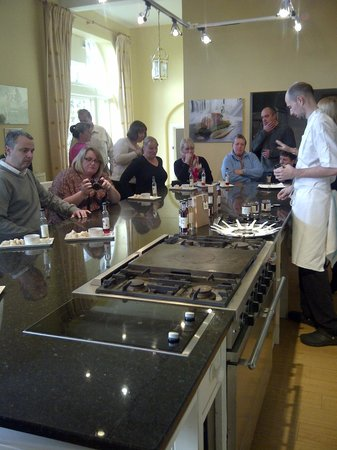 Swinton Park : Cookery school was a laugh