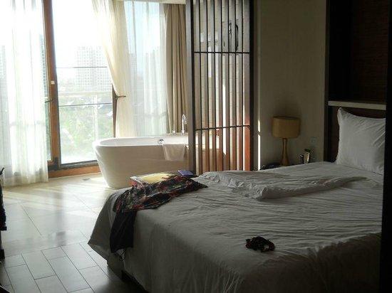 Serenity Coast Resort Sanya:                   één van de slaapkamers
