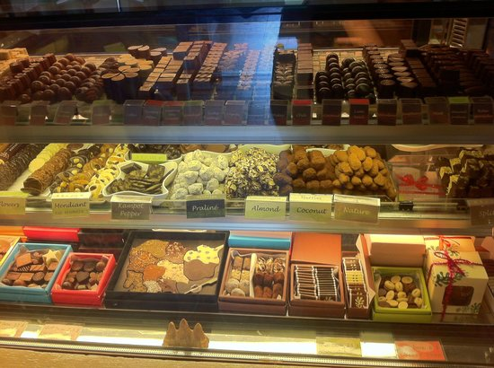 CHOCOLATE by The SHOP: Chocolates