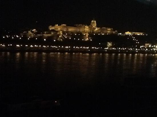 Budapest Marriott Hotel: view from room window