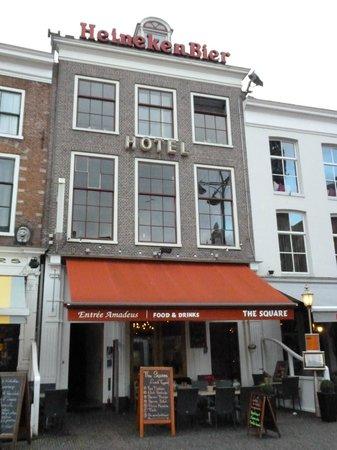 أماديوس هوتل: The hotel 