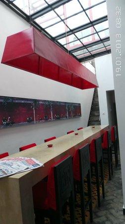 Hotel Cote Cour Beijing:                   Zitkamer met internet