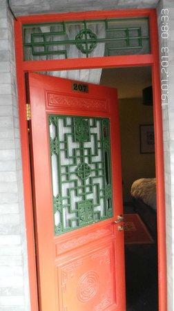 Hotel Cote Cour Beijing:                   Ingang kamer
