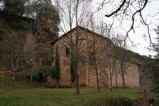 Monasterio de Suso: Parte trasera del monasterio