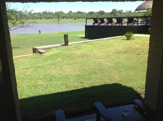 Arathusa Safari Lodge:                   view from cabin 4