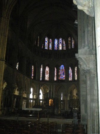 Basilique Saint-Remy:                   St Remi is buried here in a golden coffin. He coronated Clovis, the first Fren
