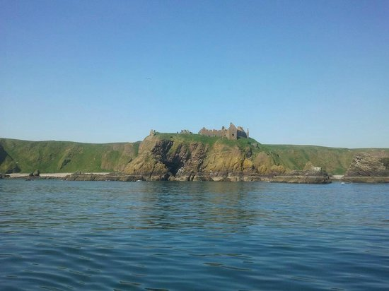 Castle Charter & Marine Service: Dunnottar Castle from the boat