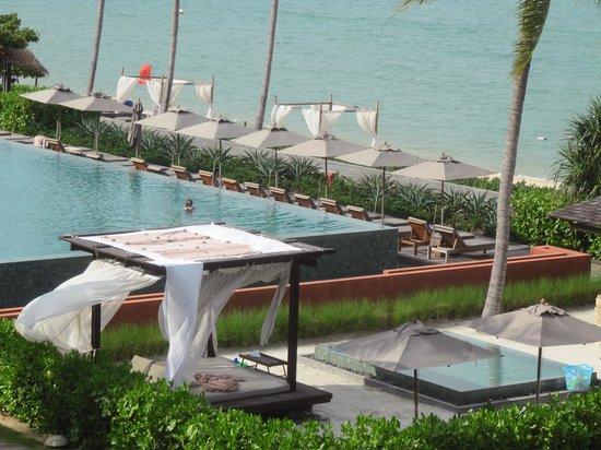 Hansar Samui Resort: Blick vom Balkon