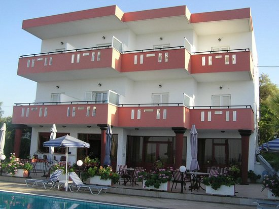 Knossos Apartments Panormo: Hotel