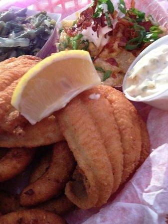 The Original Q Shack:                   Catfish Friday!!