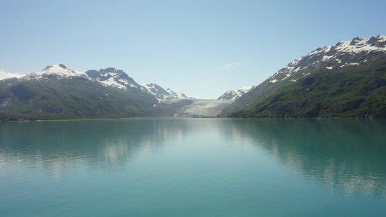 Glacier Bay National Park & Preserve: Glacier melt colors the water a stunning shade