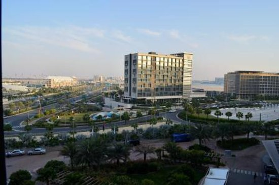 Park Inn by Radisson Abu Dhabi Yas Island: View from Room / Superior Room Level 5