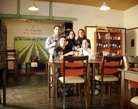 Corchos Bistro y Boutique de vinos: The Team