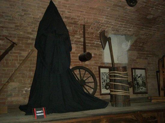 Museo della Tortura : Il boia qui rappresentato