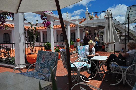 El Hostal de Su Merced: Beautiful Sunny Terrace