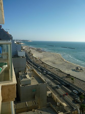 Orchid Tel Aviv:                   View from balcony