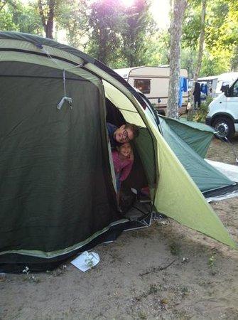 felici al Camping Laguna Village