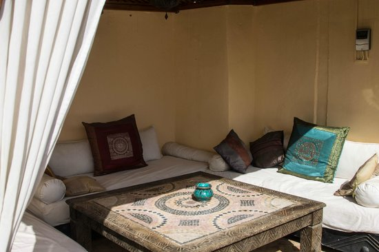 Riad Les Trois Mages:                   Pool Area / Terrace