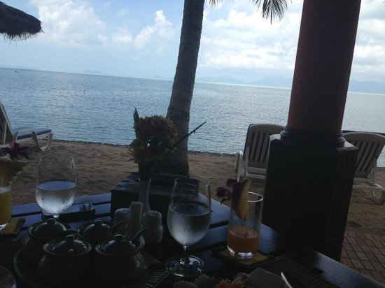 Paradise Beach Resort:                   View from lunch