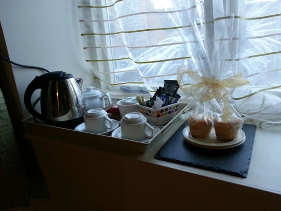 The Barns at Thorpe Market:                   Cakes and tea & coffee facilities