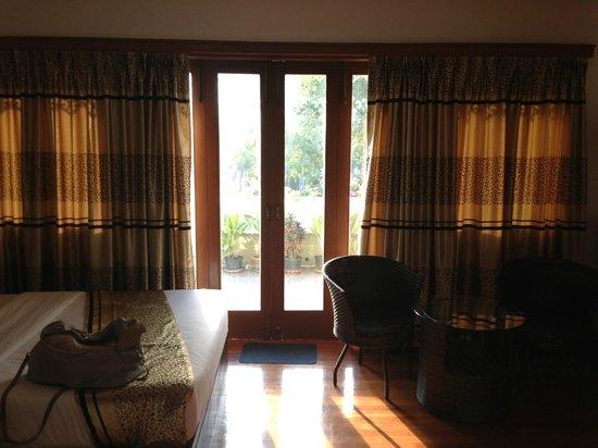 Malaysia Hotel: Blick zur Terrasse