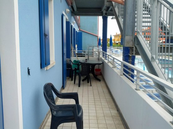 Villaggio Hemingway:                   Balkon
