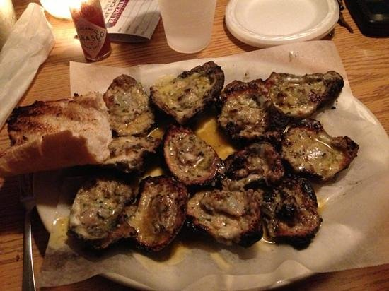Blue Gill Restaurant Incorporated:                   flaming oysters