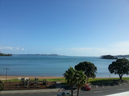 Paihia Beach Resort & Spa: View from balcony