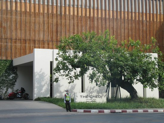 Anantara Chiang Mai Resort: Ankunft