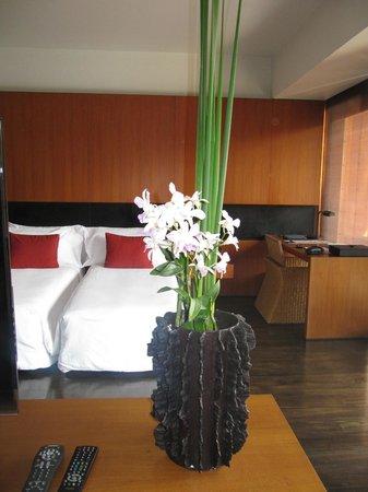 Anantara Chiang Mai Resort: Blumen